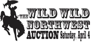 auction graphic bucking bronc